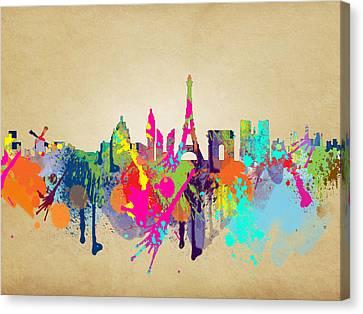 Paris Canvas Print by Mark Ashkenazi
