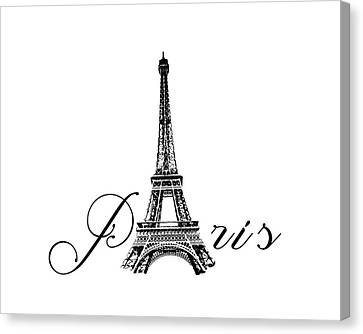Paris  Canvas Print by Steven  Taylor