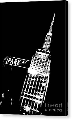 Park Avenue Canvas Print by Az Jackson