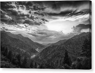 Parting Clouds Canvas Print by Andrew Soundarajan