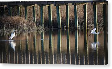 Parting Is Such Sweet Sorrow Canvas Print by Paulette Thomas