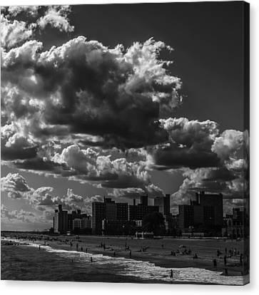 Partly Cloudy Canvas Print by Edward Khutoretskiy