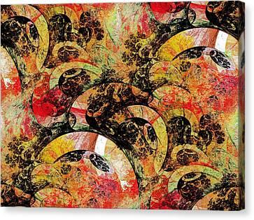Party Canvas Print by Anastasiya Malakhova