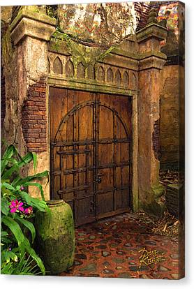 Passage To The Past Canvas Print by Doug Kreuger