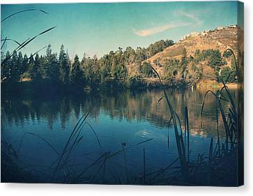 Passing The Day Away Canvas Print by Laurie Search