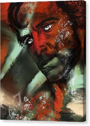 Passion Canvas Print by Francoise Dugourd-Caput