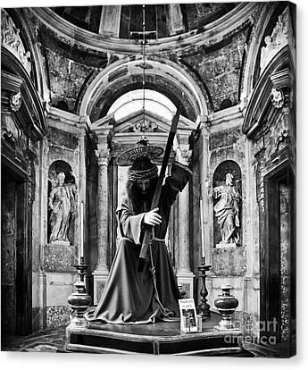 Passion Of Christ Canvas Print by Jose Elias - Sofia Pereira