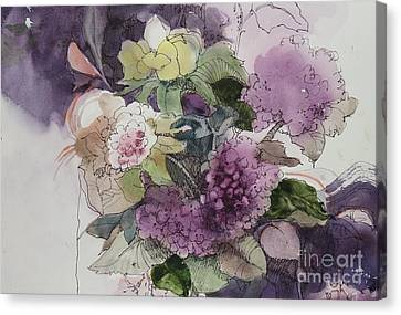 Passionate About Purple Canvas Print by Elizabeth Carr