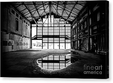 Past Reflections Canvas Print by John Rizzuto
