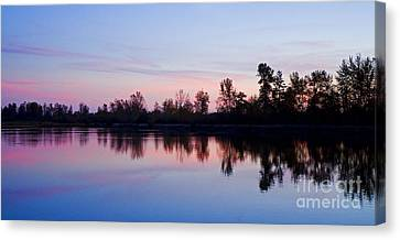 Pastel Landscape Canvas Print by Nick  Boren