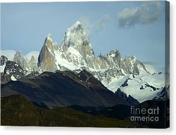 Patagonia Mount Fitz Roy 1 Canvas Print by Bob Christopher