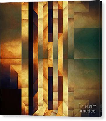 Pataphysical Translation Canvas Print by Lonnie Christopher
