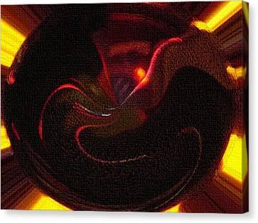Patent Leather Canvas Print by Dennis Buckman