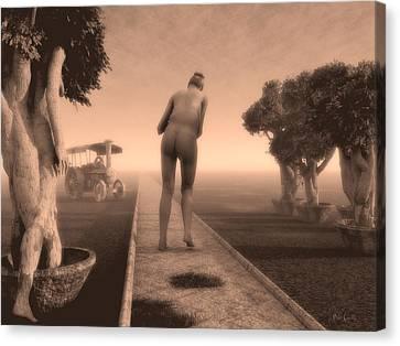 Path In Life Canvas Print by Bob Orsillo