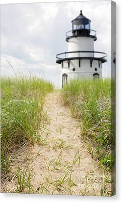 Path To The Lighthouse Canvas Print by Edward Fielding