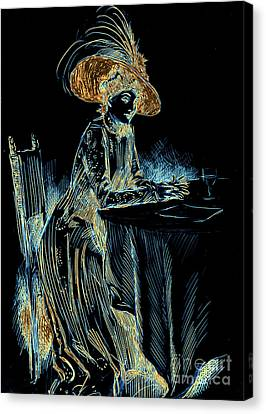 Patience Digital 1910 Canvas Print by Padre Art
