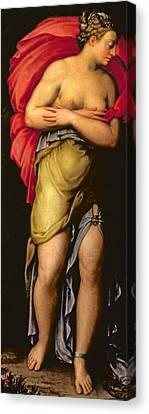 Patience Canvas Print by Giorgio Vasari