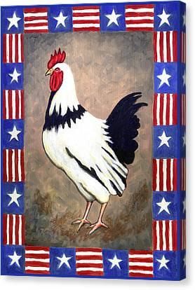 Patrick Patriotic Canvas Print by Linda Mears