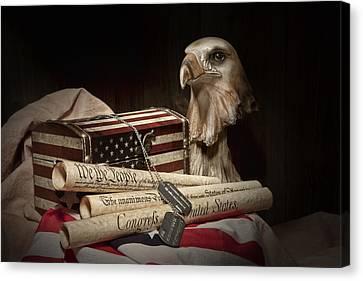 Patriotism Canvas Print by Tom Mc Nemar