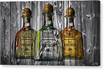 Patron Barn Door Canvas Print by Dan Sproul