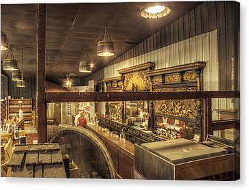 Patrons Of The Tasting Bar Canvas Print by Jason Politte