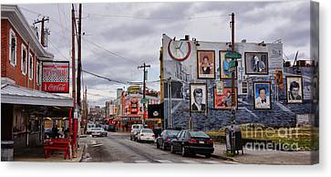 Pat's And Geno's 2 Canvas Print by Jack Paolini