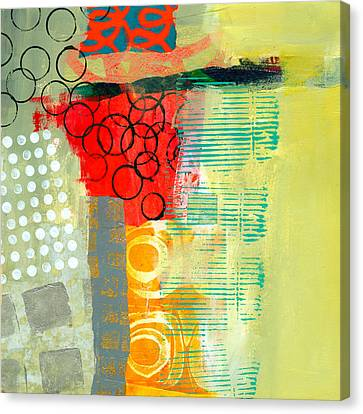 Pattern Study #3 Canvas Print by Jane Davies