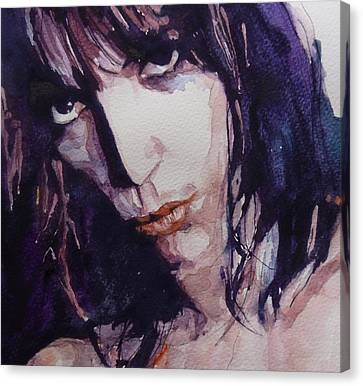Patti Smith Canvas Print by Paul Lovering
