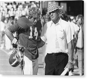 Paul Bear Bryant - Alabama Football Canvas Print by Retro Images Archive