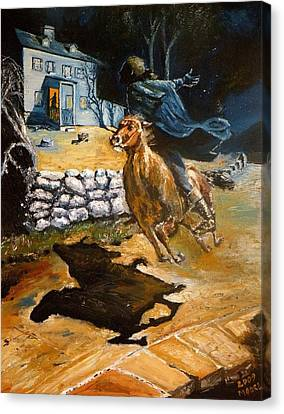 Paul Revere's Ride Canvas Print by Robert Moore