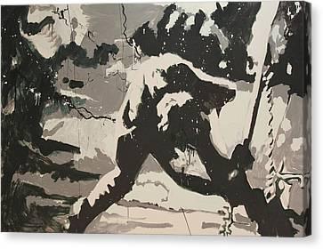 Paul Simonon Of The Clash Canvas Print by Dustin Spagnola