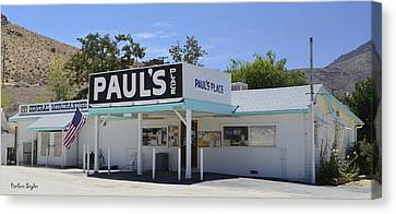 Pauls Place Canvas Print by Barbara Snyder