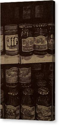 Pb And J Canvas Print by Eileen Sleckman