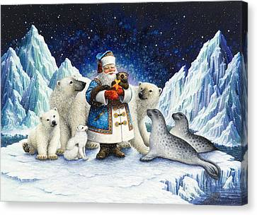 Peace On Earth  Canvas Print by Lynn Bywaters