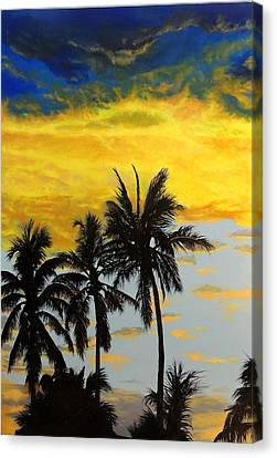 Peace Rising Canvas Print by Malcolm Regnard