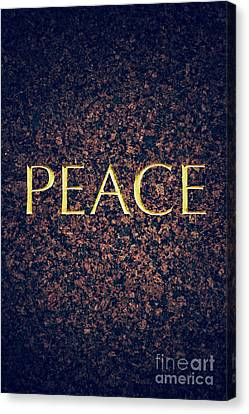 Peace Canvas Print by Tim Gainey