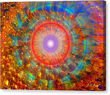 Peaceful Harmony Canvas Print by Michael Durst