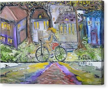 Peaceful Mood Canvas Print by Evelina Popilian