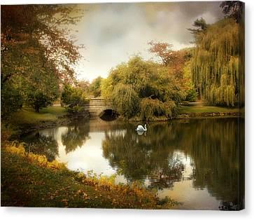 Peaceful Presence Canvas Print by Jessica Jenney
