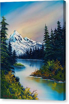 Tranquil Reflections Canvas Print by C Steele
