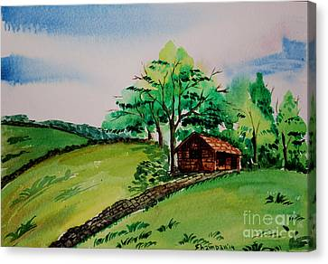 Peak District-1 Canvas Print by Shakhenabat Kasana