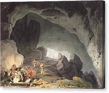 Peaks Hole, Derbyshire Canvas Print by Joseph Mallord William Turner