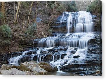 Pearsons Falls Canvas Print by Chris Flees