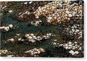 Pebbles Canvas Print by Anastasiya Malakhova