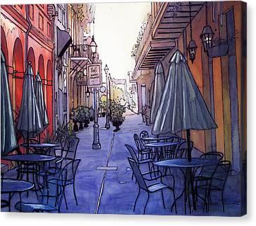 Pedestrian Mall  212 Canvas Print by John Boles