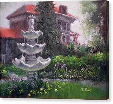 Peel Mansion Canvas Print by Timothy Jones