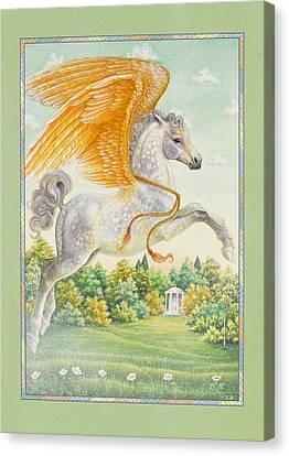 Pegasus Canvas Print by Lynn Bywaters