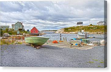 Peggy's Cove 1 Canvas Print by Betsy Knapp