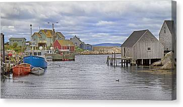 Peggy's Cove 22 Canvas Print by Betsy Knapp