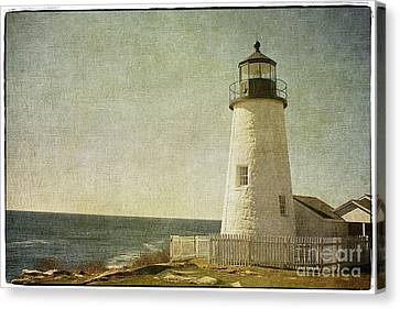 Pemaquid Lighthouse 2 Canvas Print by Cindi Ressler